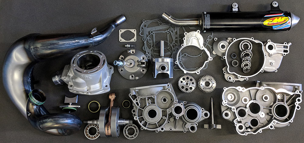The BRC Racing KTM 500cc conversion kit